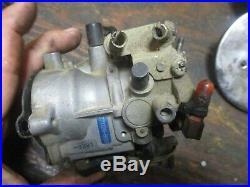 1972 Harley Davidson Ironhead Sportster Zenith Carburetor Air Cleaner Manifold