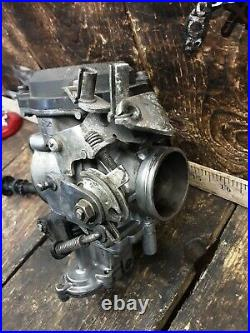 1991 91 85-99 Harley FLHTC Ultra Classic carb carburetor throttle body assembly