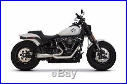 2018-2020 Harley Davidson Softail Fat Bob Two Brothers Full Exhaust System Carb