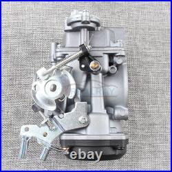 CV 40MM Carburetor ASSY For 1990-2007 Harley-Davidson Fatboy Sportster 883 1200