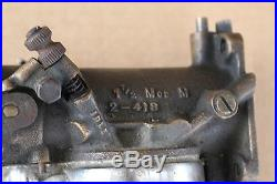 Complete M-74B Carburetor Original Harley With Filter Vintage Old School U-1951