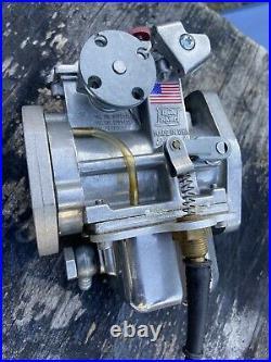 EDELBROCK Qwik Silver II 38mm Carburetor for Harley Davidson Evolution