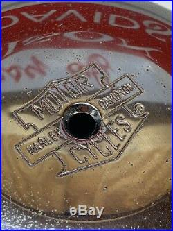 GENUINE Harley K-Model KH Panhead Linkert Carburetor Air Cleaner Cover 29030-56