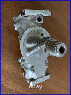 HARLEY-DAVIDSON LINKERT M-74B Carburetor Body Panhead Knucklehead Flathead Chrom