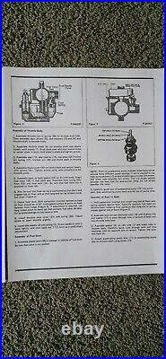 HARLEY DAVIDSON OEM BENDIX 38 mm CARBURETOR PANHEAD SHOVELHEAD SPORTSTER