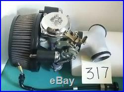 Harley Carb Kit refurbished 27421-99B with TC Manifold, Air Cleaner, 45/190 317