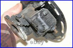 Harley DC-2 Linkert Carburetor & Air Cleaner Backing Plate Servicar XL Sportster