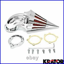 Harley Davidson CV S&S Carburetors Sportster Spike Intake Air Cleaner Filter Kit