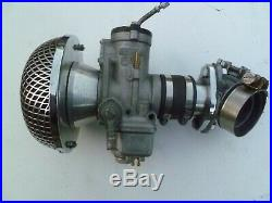 Harley Davidson Dellorto 40 mm Carburettor with inlet manifold and Air Cleaner