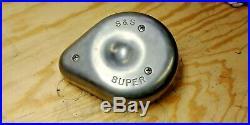 Harley Davidson HD S&S Original Super B Carburetor Carb Super Air Cleaner Cover