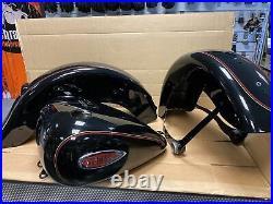 Harley Davidson Heritage Springer FLSTS 2002 Paint Set Carburetor Vivid Black