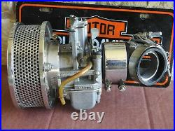 Harley Davidson Ironhead Knucklehead Panhead Shovelhead Lectron Carburetor