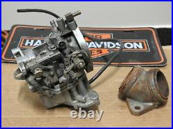 Harley Davidson Ironhead Shovelhead Keihin Carburetor, P/N 27034-84 B