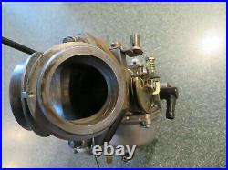 Harley Davidson Kehin Carburetor 27471-80a with Choke Cable and Bracket Complete