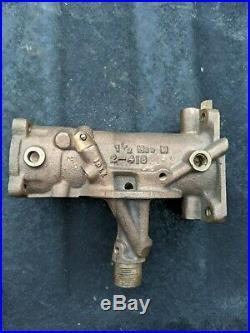 Harley Davidson Linkert Carburetor M53 A1 Air Filter Plate K-model Sportster