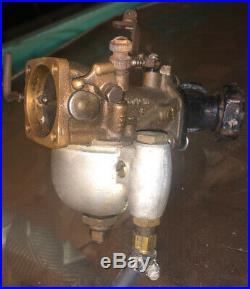 Harley Davidson Linkert M18 carburetor Manifold Harley Panhead Knucklehead UL