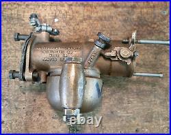 Harley-Davidson Linkert M21 carburetor with bronze floatbowl