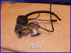 Harley Davidson OEM 44 MM CV complete carb with manifold 27932-99