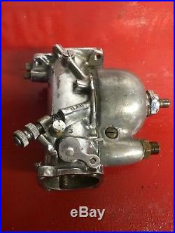 Harley Davidson Original OEM Chrome Linkert M-36 Carburetor 1949-1950