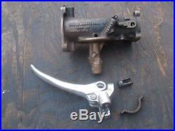 Harley Davidson Panhead Left Clutch Lever & Linkert 74b Carburetor Body