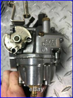 Harley Davidson S&S Super G Carb & Filter 2 1/16th inch. Used item