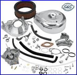 Harley-Davidson S&S Super G Carburetors Kit for Twin Cam Engine (1999-2005)