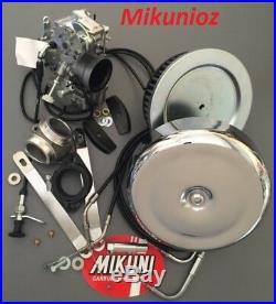 Harley Davidson Shovel Head Mikuni Carburetor HS40 Complete Kit