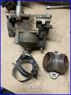 Harley Davidson Shovelhead Carb Carburetor Manifold Shovel Bobber S&S Super B FL