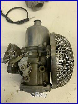 Harley Davidson Shovelhead Ironhead Panhead SU Carb Complete withManifold NICE