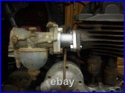 Harley Davidson Single Carburetor Adapter b ba c cb d dl peashooter antique