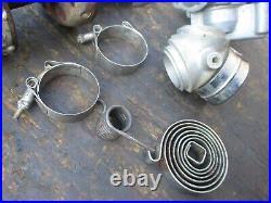Harley Davidson Sportster Ironhead Kicker Cover Wheel Hub Axle Zenith Carburetor