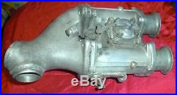 Harley Davidson/delorto Carburetor & Intake Manifold, Shovelhead Or Sportster