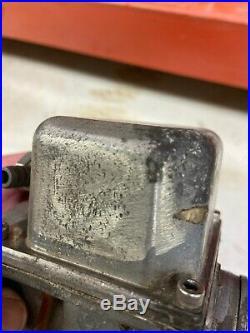 Harley Davidson edelbrock quiksilver II 2 carb carburetor shovelhead panhead evo