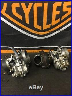 Harley Davidson1982-83 Shovelhead Fxr Superglide Keihin Carburetor And Parts
