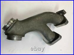 Harley Dellorto dual throat carb carburetor early evo intake manifold