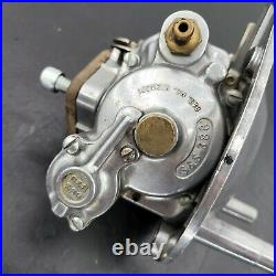 Harley EL FL FLH FX Shovelhead Chopper S&S Super-E Carburetor Backing Plate Assy