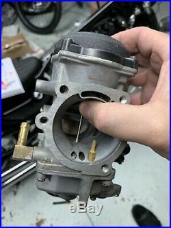 Harley EVO TWIN CAM SPORTSTER. CV Carburetor