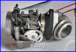 Harley Kehin Carburetor PA40A with S&S Intake Manifold 158 Used