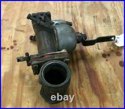 Harley Linkert M-351 Carburetor from 1948 Panhead #9694