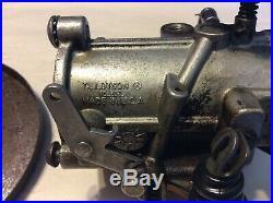 Harley Sportster Shovelhead Tillotson HD2D Carburetor and Backing Plate