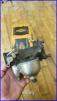 Harley knucklehead EARLY carburetor carb EL NOS OEM BOX 1134-36 linkert 1936 WoW