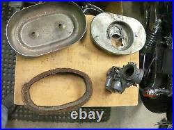 Ironhead Harley Bendix Carburetor air box & Manifold for XLCH, XLH Sportster