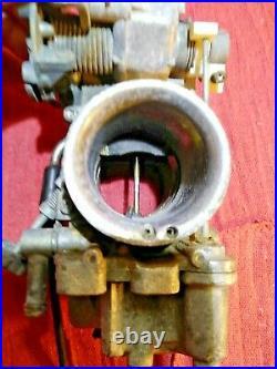 Mikuni 40mm Flat Slide Carburetor for Harley-Davidson Sportster Flathead 45