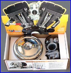 Mikuni 45mm Carburetor 45-4 HSR42 Total Kit for Harley Davidson Twin Cam models