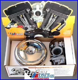 Mikuni Carburetor 45-3 HSR45 Total Kit Harley Davidson EVO models (No Manifold)