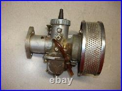 Mikuni Harley Round Slide Carburetor Conversion Bendix Zenith Sportster Bt