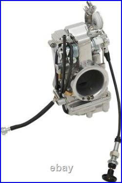 Mikuni Smoothbore Polished Carburetor HSR45 45mm Carb Harley EVO Twin TM45-2PK