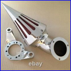 Motorcycle Spike Air Cleaner K&N for Harley Davidson CV Carburetor Delphi V-Twin