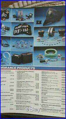 NOS Harley Davidson Knucklehead Panhead Shovelhead XL Lectron Carburetor Kit OEM
