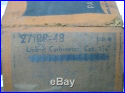 NOS Original Harley Davidson Linkert M74 Carburetor Knucklehead Flathead Panhead